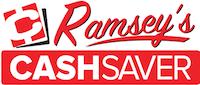 A theme logo of Ramsey Cash Saver